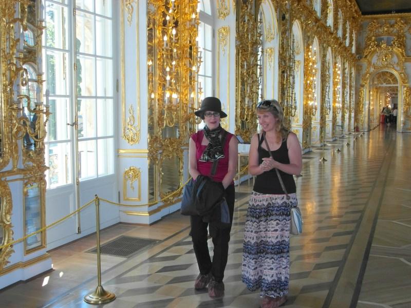 Pushkin, Russia ~ Catherine's Palace !