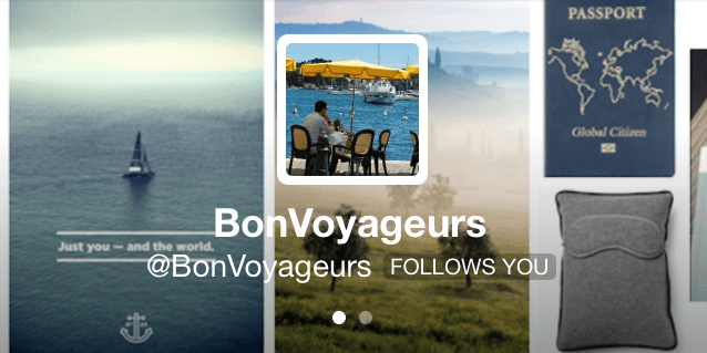 BonVoyageurs among Top 100 Travel Tweeters in the world in 2014!