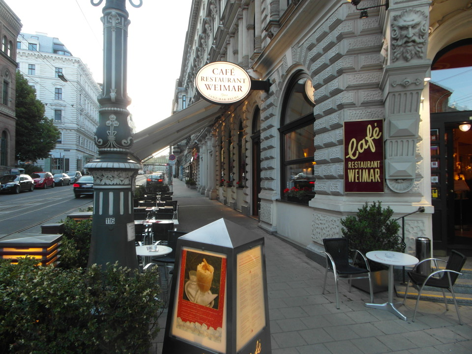Vienna cafes and coffee houses : Cafe Weimar