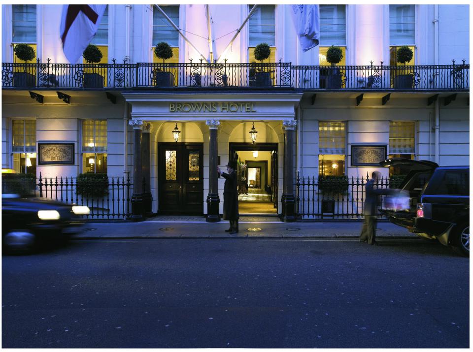 The English Tea Room, Brown's Hotel, Albemarle Street, Mayfair, London W1S 4BP, England