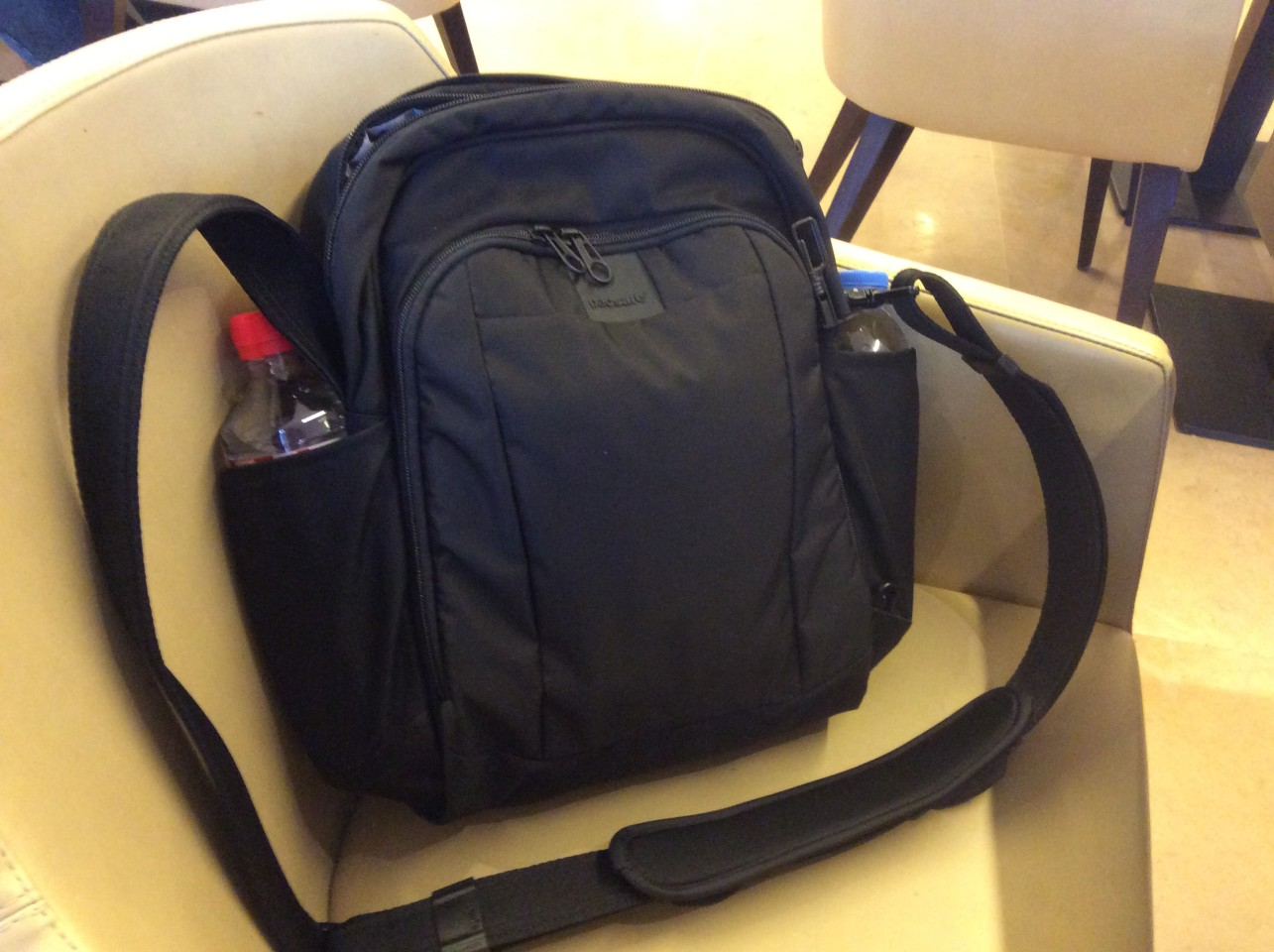 What's in your bag? My cross shoulder day pack
