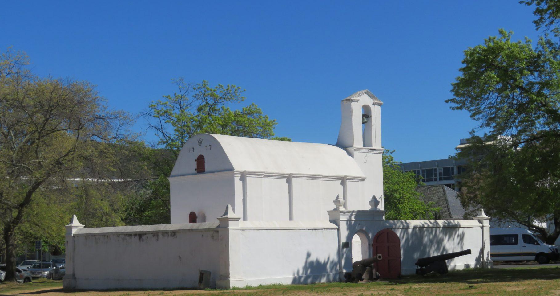 The town of Stellenbosch, South Africa