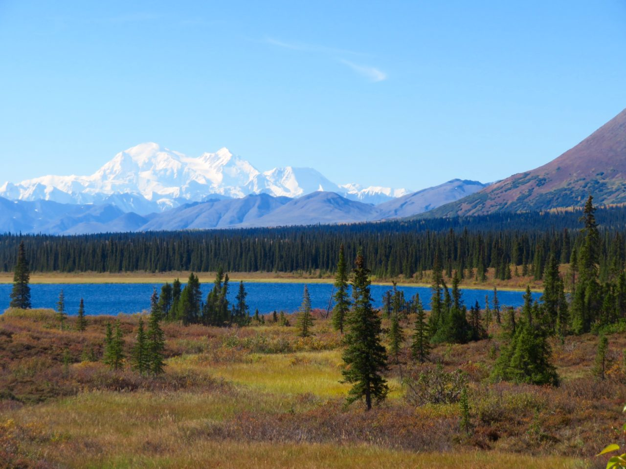 Beautiful Alaska landscape