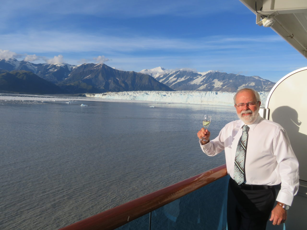 Louis-Simon at Hubbard Glacier