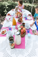 French breakfast table