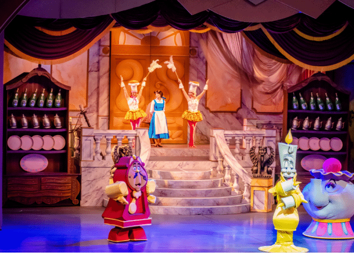 best disney world rides beauty and the beast stage show in Hollywood Studios