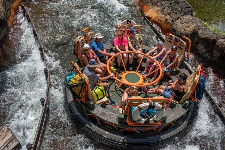 disney animal kingdom river rapids water ride