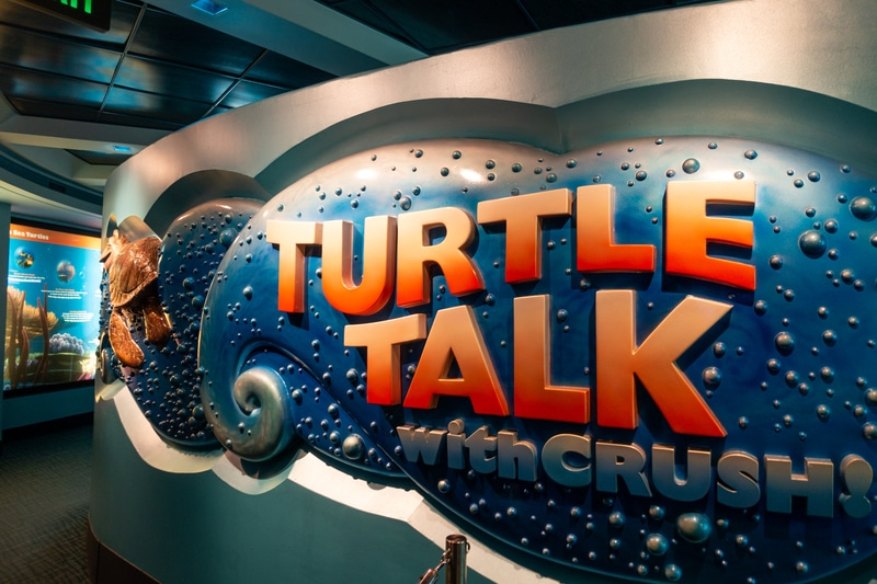 best disney world rides for preschoolers and school age turtle talk with crush