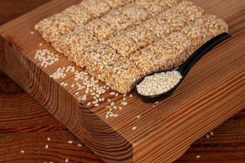 sesame candy for christmas desserts around the world