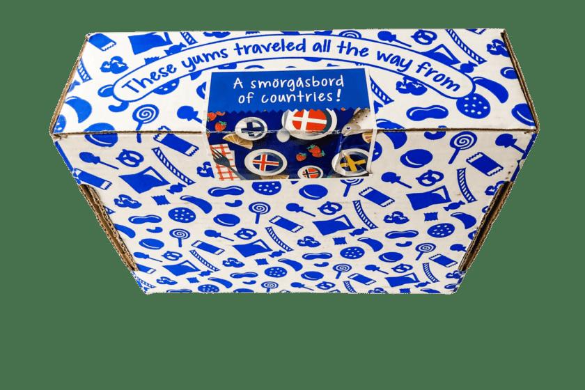 universal yums outside box