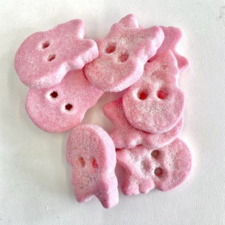 Bonza Confectionery - Raspberry Foam Skull 2