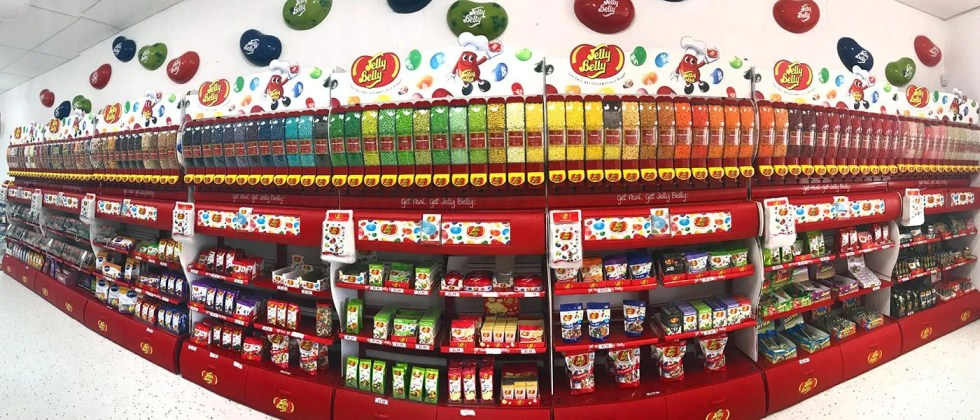Bonza Confectionery - Jelly Belly Display