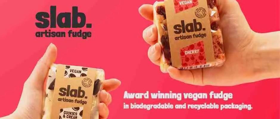Slab Artisan Fudge - Banner Vegan 2