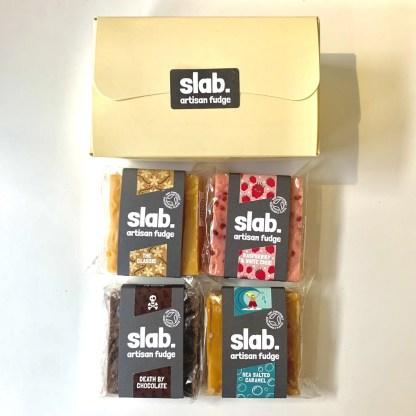 Slab Artisan Fudge - 4 Slab Dairy Gift Box