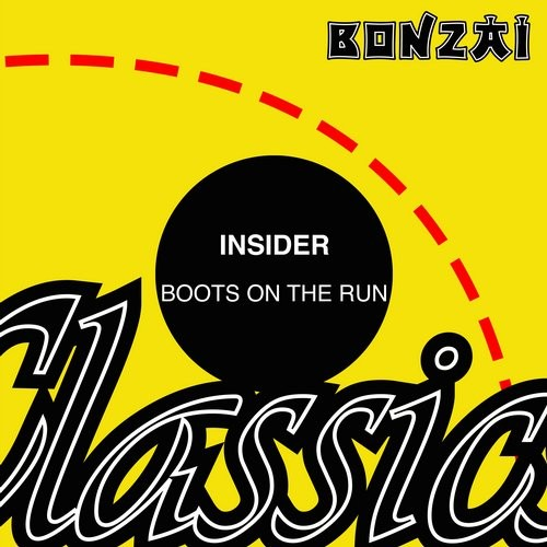 Insider – Boots On The Run (Original Release 1998/1999 Bonzai Records UK/Bonzai Records Cat No. BRUK01/BR99142)
