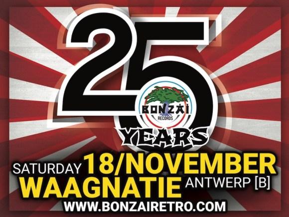 25 Years Bonzai Retro Party