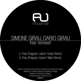 SIMONE GIRAU, DARIO GIRAU – FREE – REMIXED (AU RECORDS)