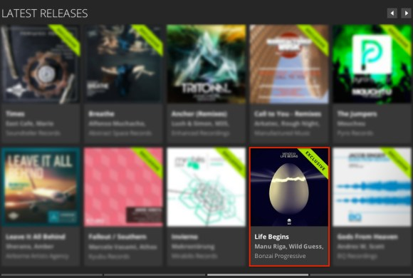 MENDEXX – LIFE BEGINS FEATURED BY BEATPORT