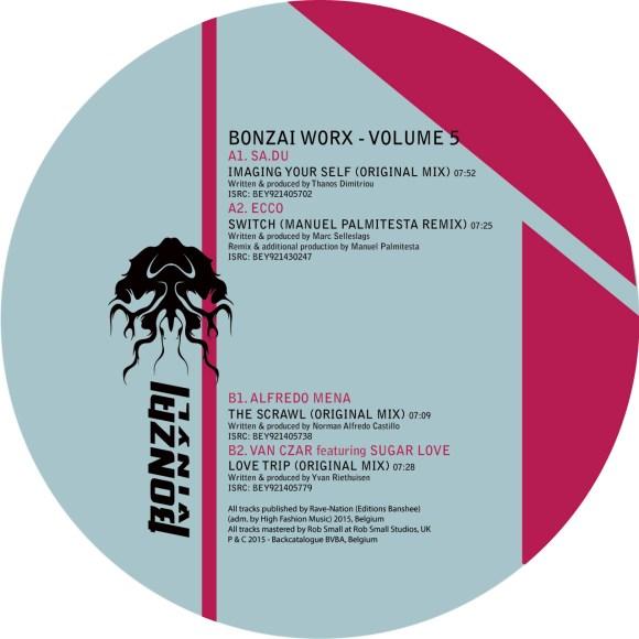 BONZAI WORX – VOLUME 5 (BONZAI VINYL)