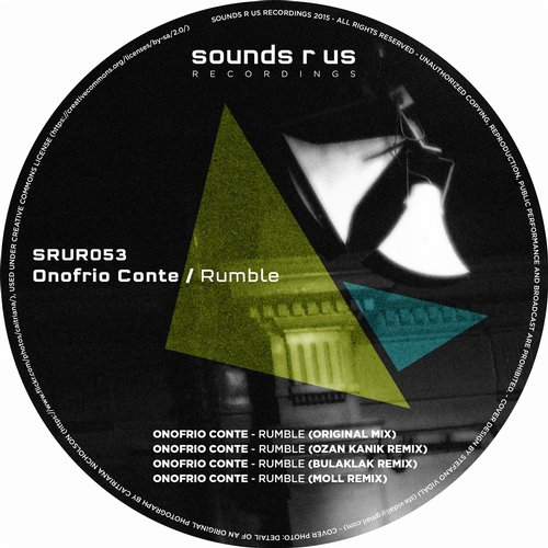 ONOFRIO CONTE – RUMBLE (SOUNDS R US RECORDINGS)