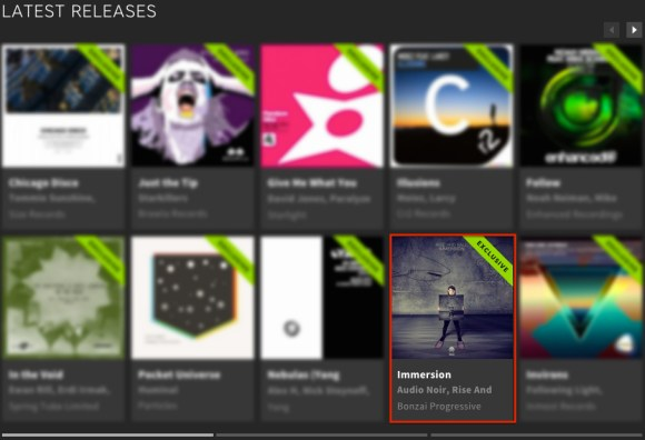 RISE AND FALL – IMMERSION FEATURED BY BEATPORT
