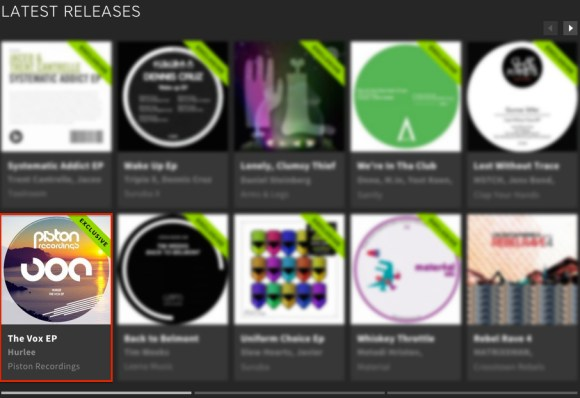 HURLEE – THE VOX EP FEATURED BY BEATPORT