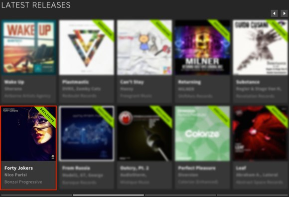 NICO PARISI – FORTY JOKERS FEATURED BY BEATPORT