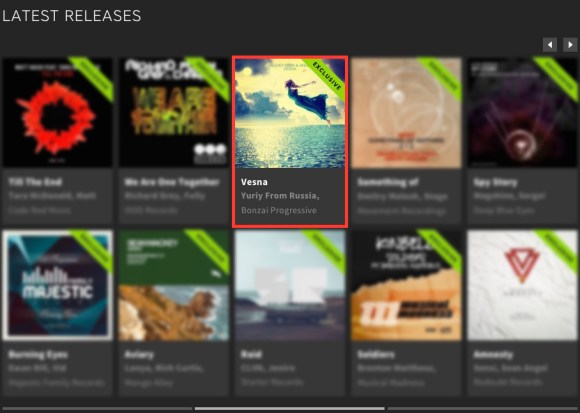 ALEXEY LISIN & ANGE – VESNA FEATURED BY BEATPORT