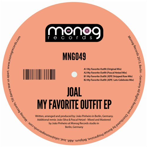 JOAL – MY FAVORITE OUTFIT (MONOG RECORDS)