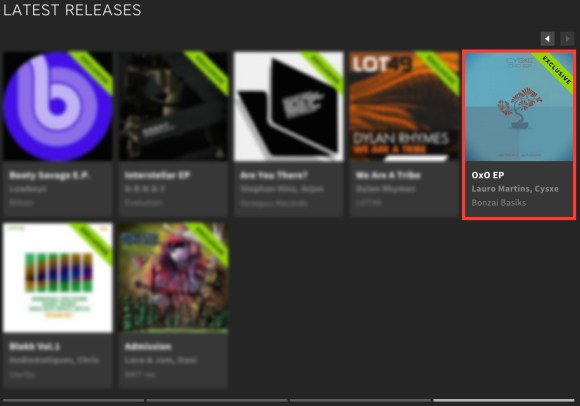 CYSXE – OXO EP FEATURED BY BEATPORT