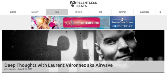 AIRWAVE INTERVIEW FOR RELENTLESS BEATS