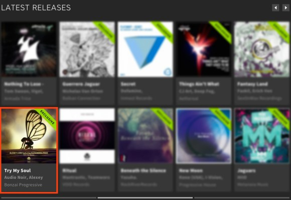ALEXEY LISIN featuring ALEXANDRA PRIDE – TRY MY SOUL FEATURED BY BEATPORT