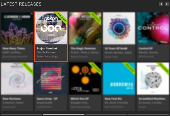 CHARLIE PEARSON – TROJAN SENDOUT FEATURED BY BEATPORT