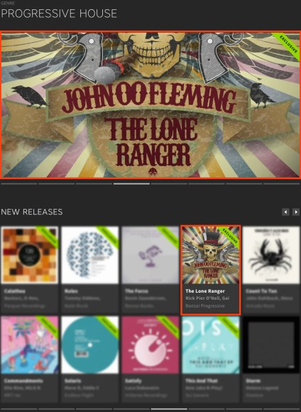 JOHN 00 FLEMING – THE LONE RANGER FEATURED BY BEATPORT