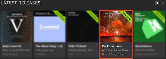 AUDIO NOIR featuring JIMMIE WESTWOOD – FAR FROM HOME FEATURED BY BEATPORT