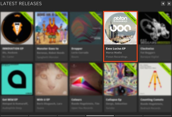 MARCO MADIA – EXOS LUCIUS EP FEATURED BY BEATPORT