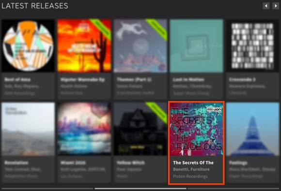 THE SECRETS OF THE TRADE 005 FEATURED BY BEATPORT