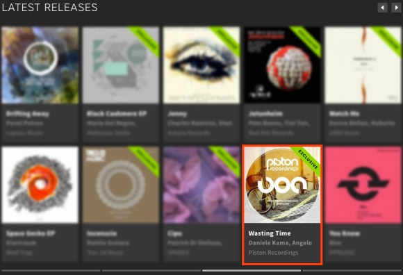 ANGELO FERRERI & DANIELE KAMA – WASTING TIME FEATURED BY BEATPORT