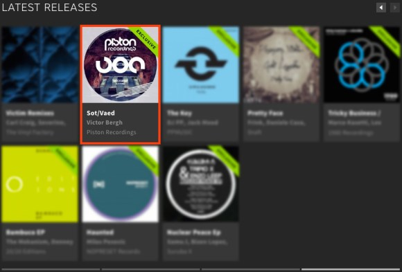 VICTOR BERGH – SOT/VAED FEATURED BY BEATPORT