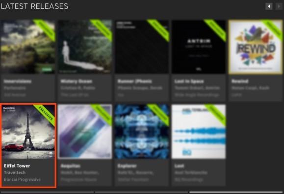 TRAVELTECH – EIFFEL TOWER FEATURED BY BEATPORT