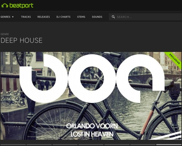 ORLANDO VOORN – LOST IN HEAVEN FEATURED BY BEATPORT