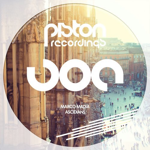 MARCO MADIA – ASCIDIANS (PISTON RECORDINGS)
