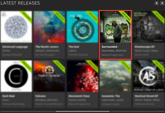 MANU RIGA – SURROUNDED – REMIXED FEATURED BY BEATPORT