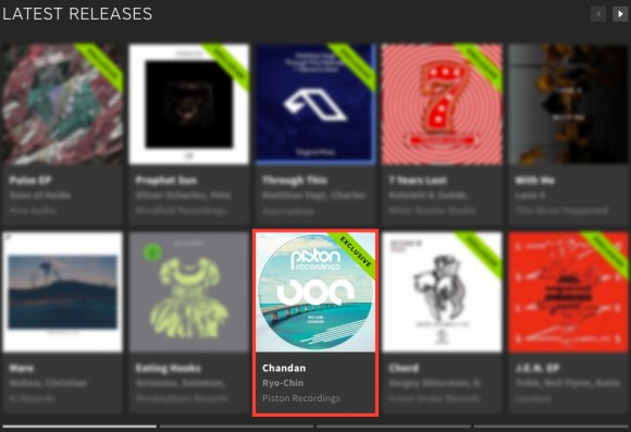 RYO-CHIN – CHANDAN FEATURED BY BEATPORT