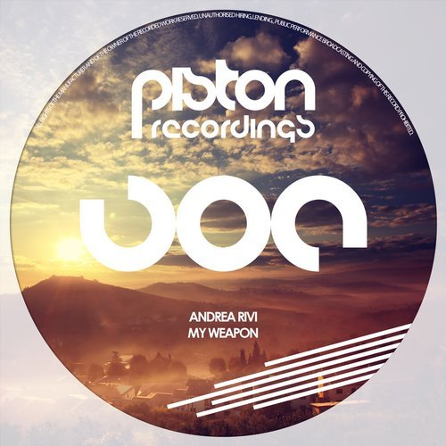 ANDREA RIVI – MY WEAPON (PISTON RECORDINGS)