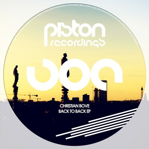 CHRISTIAN BOVE – BACK TO BACK EP (PISTON RECORDINGS)