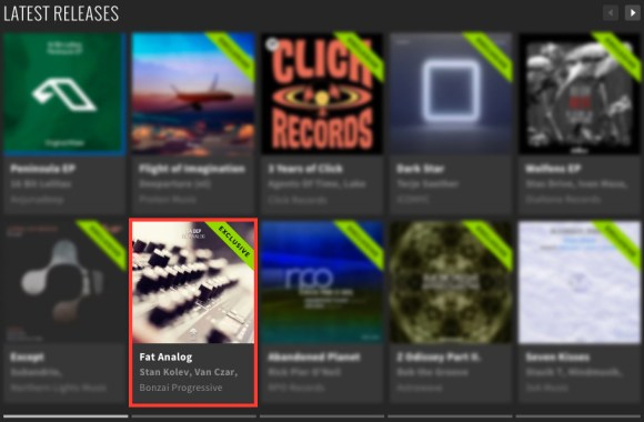 IGA DEP – FAT ANALOG FEATURED BY BEATPORT