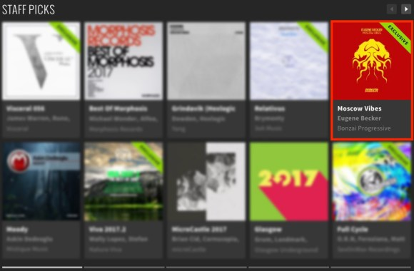 EUGENE BECKER – MOSCOW VIBES FEATURED BY BEATPORT