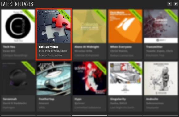 RICK PIER O'NEIL & CHRIS GAVIN – LOST ELEMENTS FEATURED BY BEATPORT