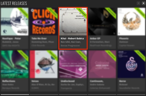 VAN CZAR & KEN ISHII – KITAI – ROBERT BABICZ REMIX #2 FEATURED BY BEATPORT